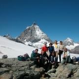Sur le glacier du Théodule