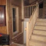 Escalier intérieur et ballustrade