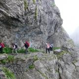 Le Passage du Curé sous le col de La Croix du Bonhomme