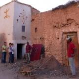 dans le village de Taliouine