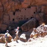 vallée de Tizgui et les grenier troglodytes