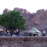 campement dans les gorges du Tislit