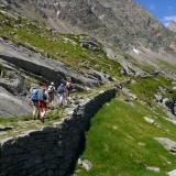 Dans le Val Quarazza montée au col Turlo