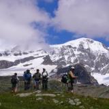 Le Mont Rose depuis Passo Foric