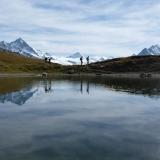 Béplan sous le Col Torrent dans le Val D'Hérens