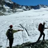 Glacier d'Arolla et le col du Mont Brulé