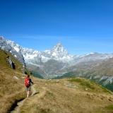 Le Valtournenche et la face sud du Cervin