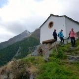 La chapelle de Jungu dans le Mattertal
