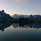 le lac Blanc-Chamonix